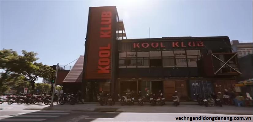 Dự án lắp đặt vách ngăn vệ sinh cho KoolKlub