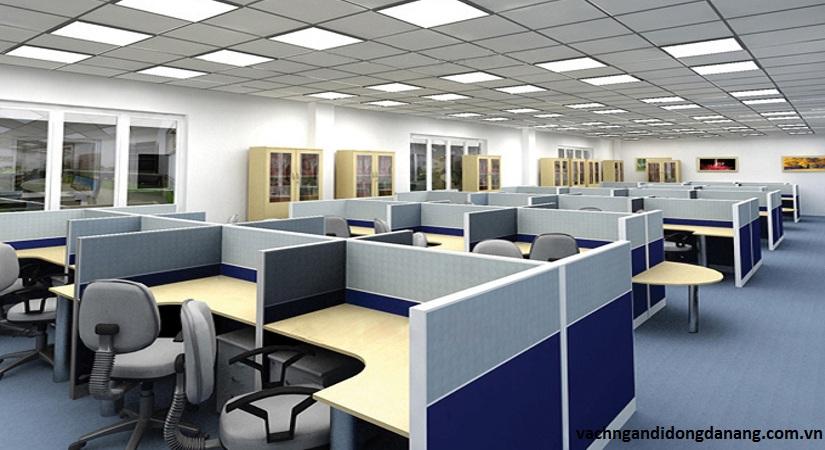 ứng dụng vách ngăn vệ sinh cho văn phòng