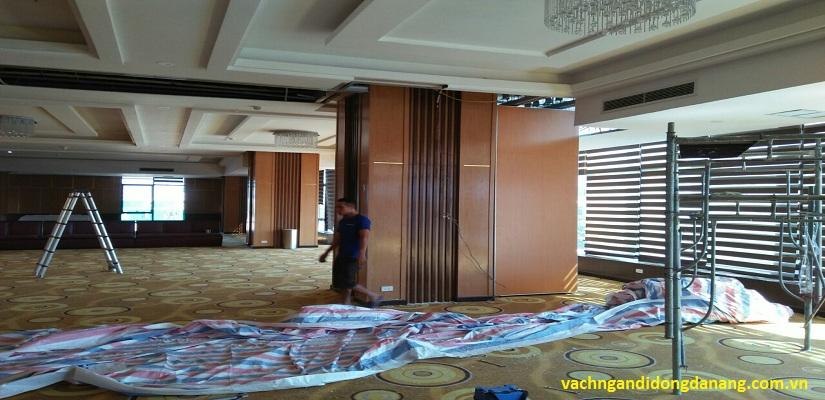 dự án vách ngăn di động khách sạn