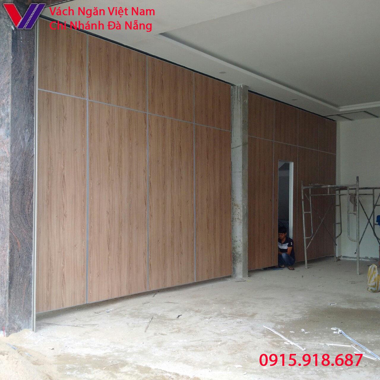 Dự án thi công vách ngăn di động công trình nhà ở số 87 Tôn Đức Thắng TP Đà Nẵng