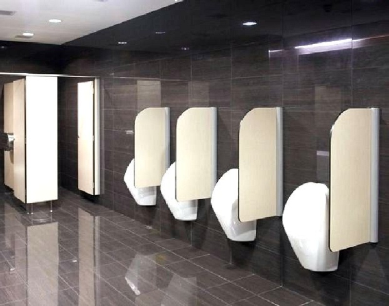 Vách ngăn vệ sinh trung tâm thương mại và sự đẳng cấp đến ngỡ ngàng
