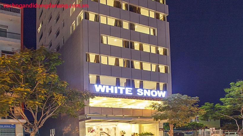 Dự án lắp đặt vách ngăn di động khách sạn White Snow Nguyễn Văn Linh