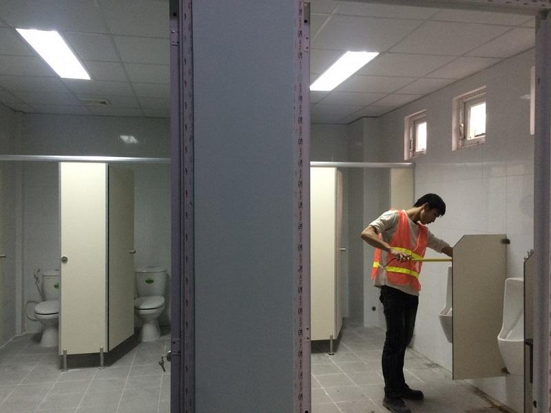 Quy trình lắp đặt vệ sinh đạt chuẩn
