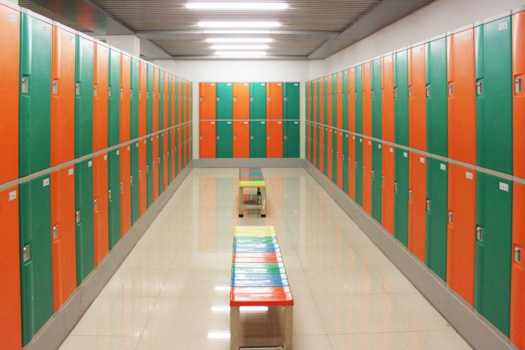 Mẫu tủ locker tại Đà Nẵng để đồ cá nhân ở các phòng tập gym