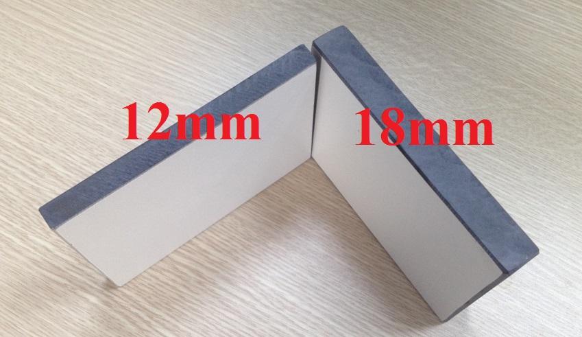 Tấm compact 12 mm và 18 mm
